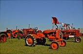 Classic Tractors at a Farm Show