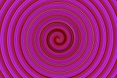 Abstract Pink Spin