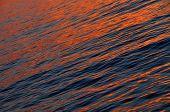 Beautiful Orange Sea Sunset