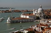 Venece Puntadella Dogana And Santa Mariadella Salute
