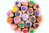 Color Pencils Round