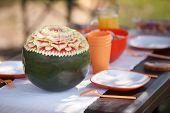 Beautiful water-melon