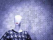 picture of boutique  - Shop dummy fashion mannequin in store boutique shop window photo - JPG