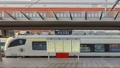 image of passenger train  - Bruges - JPG