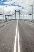 Highway, bridge and cloudy