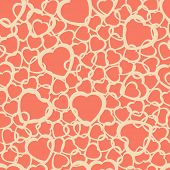 Abstract Pattern With Hearts