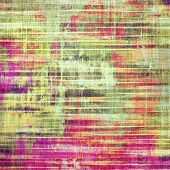 Grunge texture, may be used as retro-style background. With different color patterns: red (orange); yellow (beige); green; purple (violet); pink