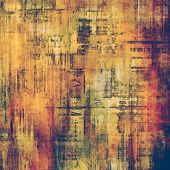 Grunge texture, may be used as background. With different color patterns: yellow (beige); brown; green; purple (violet)