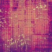 Old designed texture as abstract grunge background. With different color patterns: brown; purple (violet); pink