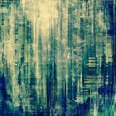 Grunge retro texture, elegant old-style background. With different color patterns: blue; gray; cyan
