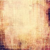 Grunge texture, may be used as retro-style background. With different color patterns: yellow (beige); brown; gray