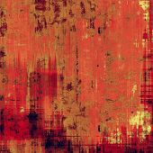 Abstract textured background designed in grunge style. With different color patterns: red (orange); yellow (beige); brown; pink