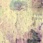 Retro background with grunge texture. With different color patterns: yellow (beige); blue; brown; purple (violet)