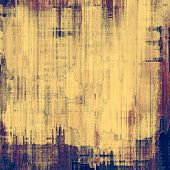 Grunge stained texture, distressed background with space for text or image. With different color patterns: yellow (beige); blue; brown; purple (violet)