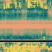 Abstract blank grunge background, old texture with stains and different color patterns: yellow (beige); blue; cyan; pink