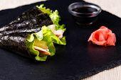 Japanese Hand-rolled Sushi