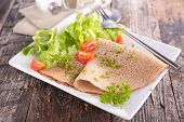 picture of crepes  - buckwheat crepe - JPG
