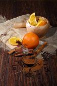 Orange, Cinnamon, Anise And Carnation