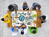 Ethnicity People Discussion Learning Security Protection Concept