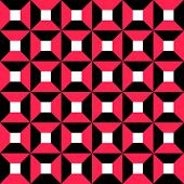 Seamless Square Pattern. Vector Regular Texture