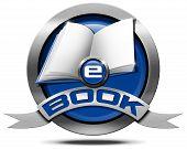 E-book - Metallic Icon
