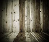 old grunge interior, wooden background
