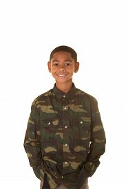 foto of tween  - Young tween isolated on a white background - JPG