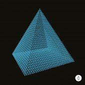 image of triangular pyramids  - Pyramid - JPG