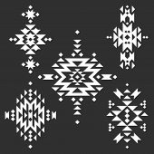 stock photo of tribal  - Vector Tribal elements - JPG