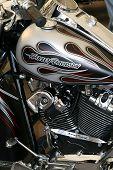 Faaker see, Österreich September 11: custom Motorräder werden gezeigt auf der european Bike Week am September