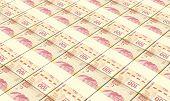 foto of pesos  - Mexican pesos bills stacks background - JPG