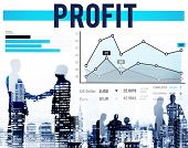 foto of proceed  - Profit Finance Gain Return Proceeds Percentage Concept - JPG