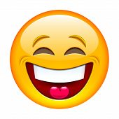 picture of emoticons  - Laughing emoticon - JPG