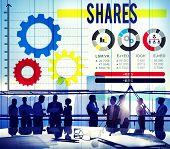 image of asset  - Shares Sharing Asset Contribution Dividend Concept - JPG