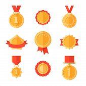 pic of gold medal  - Golden medals - JPG