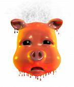 Piggy Emoticon - Very - Hot