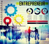 stock photo of entrepreneur  - Entrepreneur Dealer Marketing Promotor Seller Concept - JPG