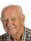Closeup Senior Man