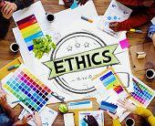 image of integrity  - Ethics Integrity Fairness Ideals Behavior Values Concept - JPG