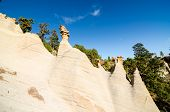 picture of canary  - Rock Formations Paisaje Lunar on Canary Island Tenerife - JPG