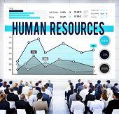 image of recruitment  - Human Resources Employment Recruitment HR Concept - JPG