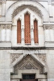 picture of freemasons  - Detail on the Masonic Lodge in France - JPG