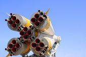 Nozzles Of Soyuz Spacecraft
