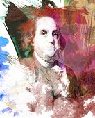 Ben Franklin Watercolor