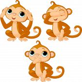 Three Little Monkeys