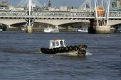 Charing Cross And Tire Boat 2