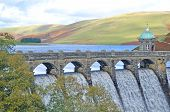 Dam in Elan Valley Wales