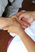 Hand Massage In Spa