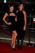 LOS ANGELES, CA - DEC 9: Fergie aka Stacy Ferguson and Penelope Cruz at the premiere of 'Nine' held
