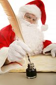 Santa Dips seine Quill